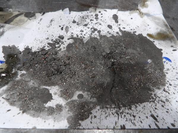 oil tank dirt - cleaning oil tank