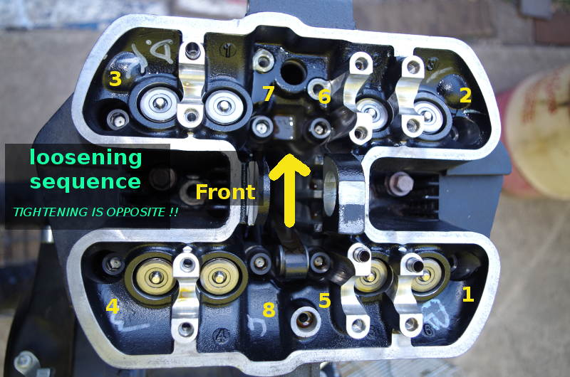 head bolt tightening sequence